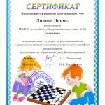 Дианов Денис-шашки 2018