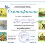 Маша Малинина-Сибирь-2017-сертификат